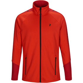 Peak Performance Rider Zip Jacket Men dark chilli